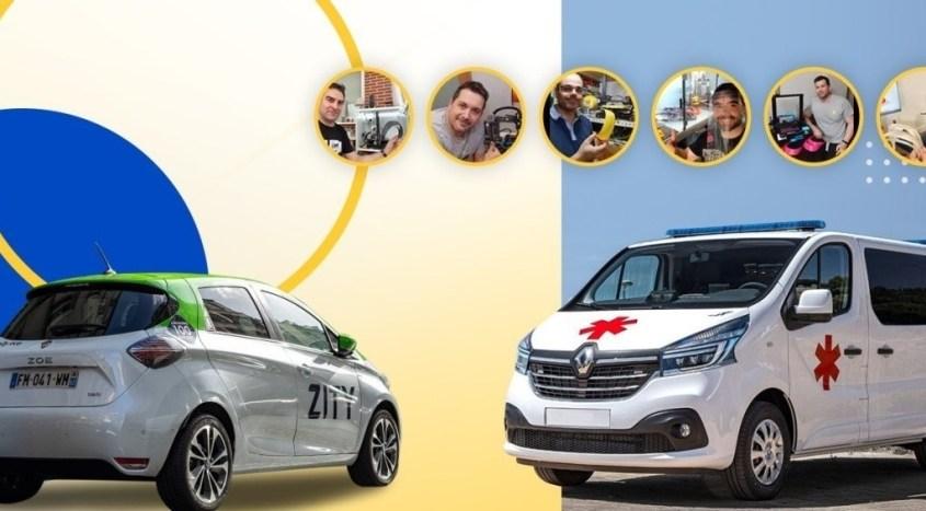 Gruppo Renault aiuta la lotta al coronavirus