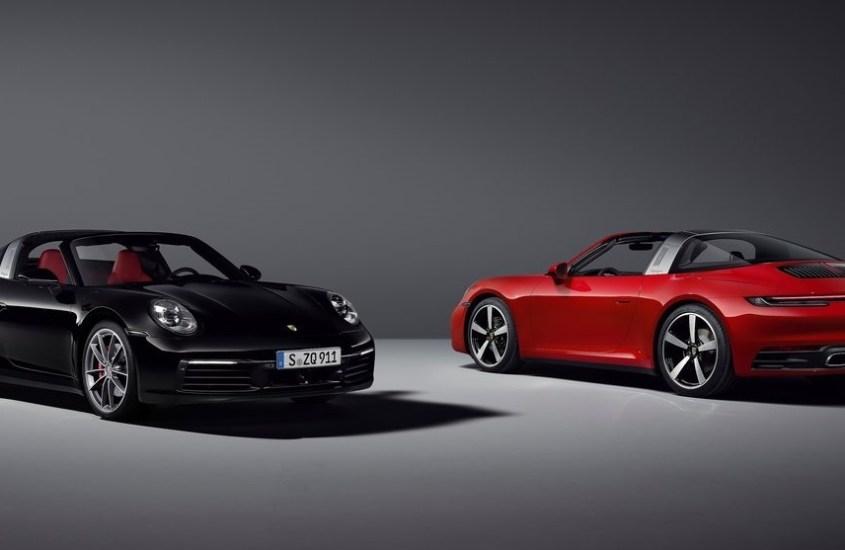 Porsche 911 Targa 4, stravagante e più potente
