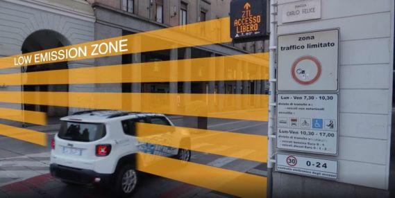 auto ibride nella ZTL di Torino_cover