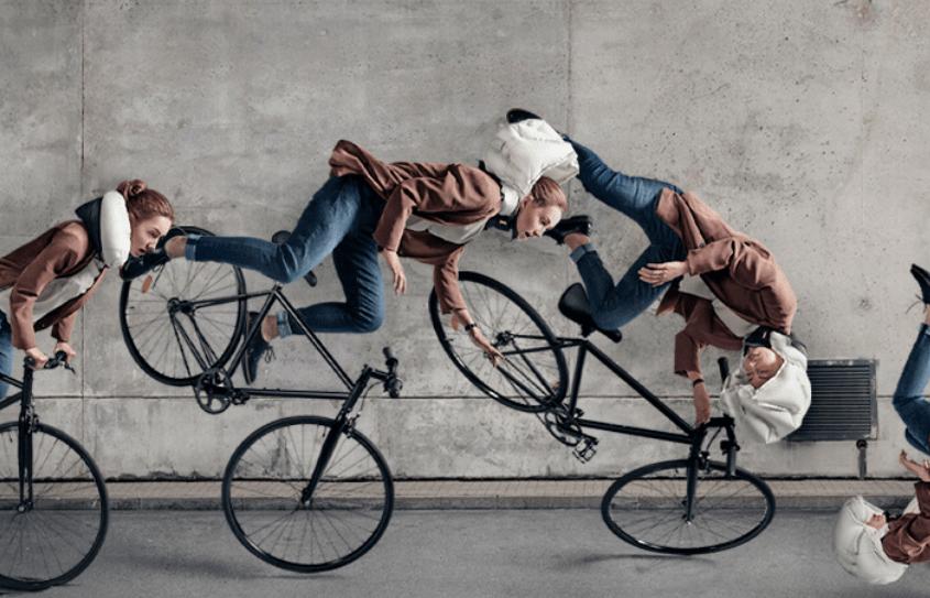 Casco per ciclisti con airbag, l'idea arriva dalla Svezia