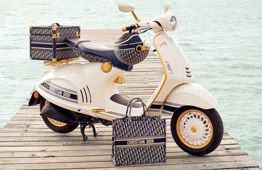 Vespa 946, un'esclusivo modello firmato Christian Dior