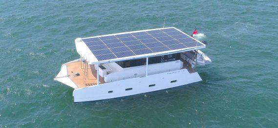 yacht elettrico Aquanima 40