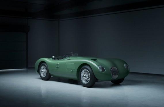 Jaguar C-Type 70 anni