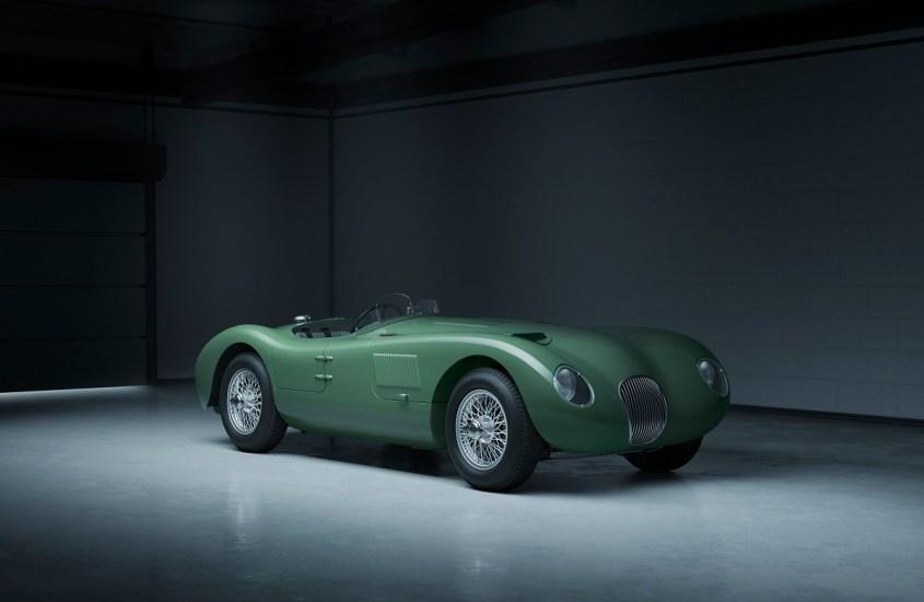 Jaguar C-Type: la leggendaria sportiva torna in vita per i suoi 70 anni