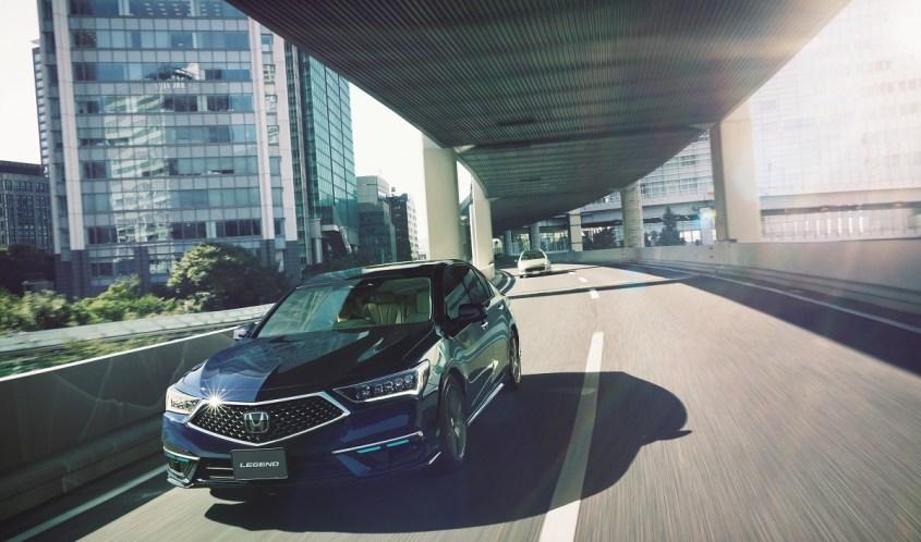 Honda SENSING Elite caratteristiche