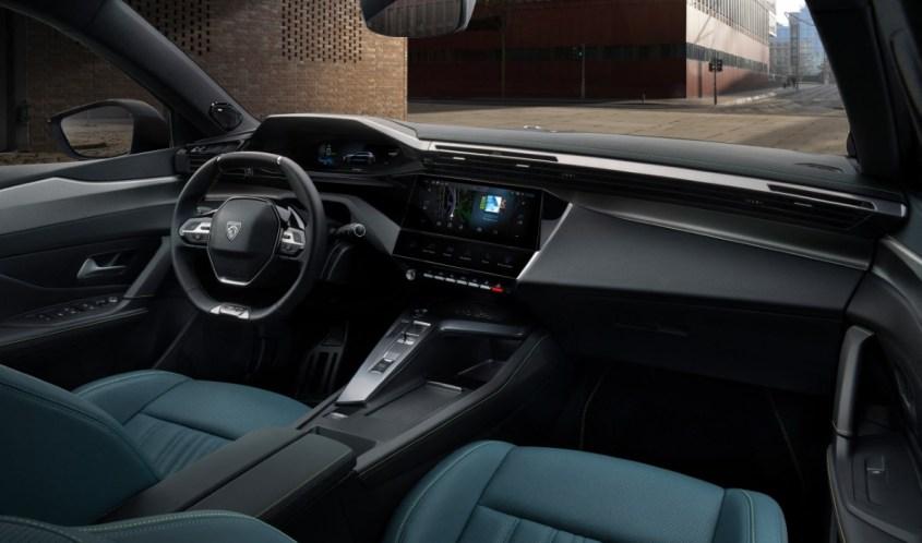 nuova Peugeot 308 interni i-cockpit