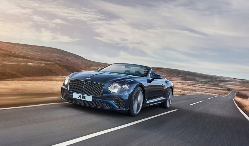 Bentley Continental GT Speed Convertble