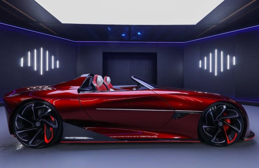 MG Cyberster, la concept elettrica del futuro pronta al debutto a Shanghai