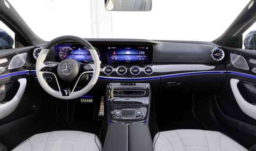 dettaglio interni Mercedes CLS restyling 2021
