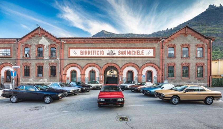 Lancia Gamma Coupé collezione in mostra a Torino