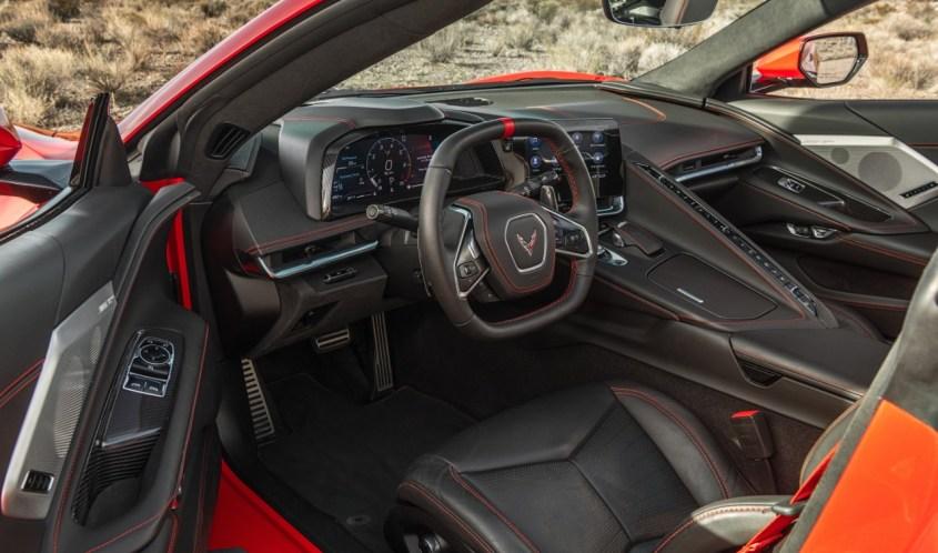 Chevrolet Corvette Stingray interni