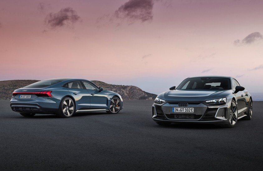 Audi RS e-tron GT, la granturismo del futuro è una berlina coupé elettrica