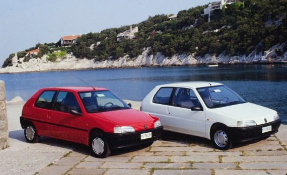 Peugeot 106 30 anni