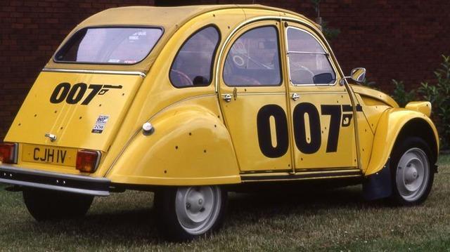 citroen 2CV 007 giallo herion