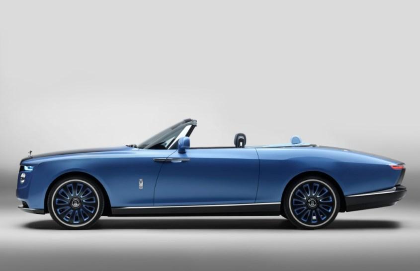 Rolls Royce Boat Tail profilo