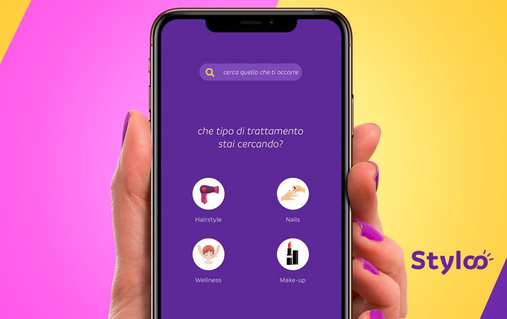 Styloo l'app per il beauty che sceglie i clienti per te