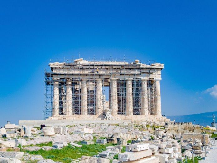 Athènes, Grèce, Santorin