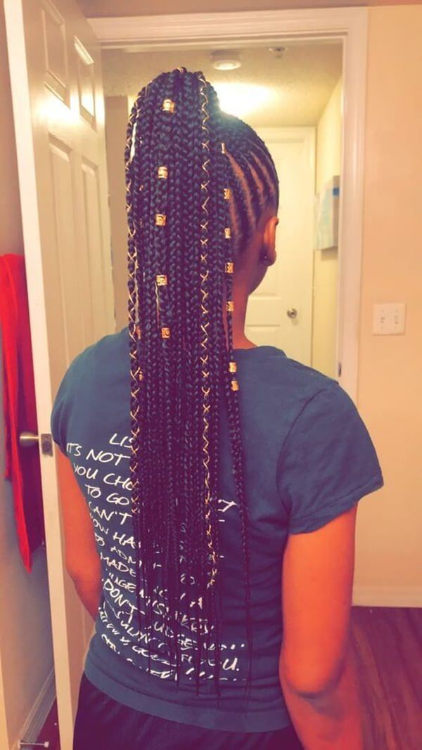 83 Gorgeous Fulani Braids You Should Try This Year Stylying