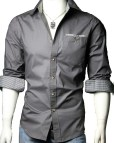 Casual Long Sleeve Dress Shirts for Men