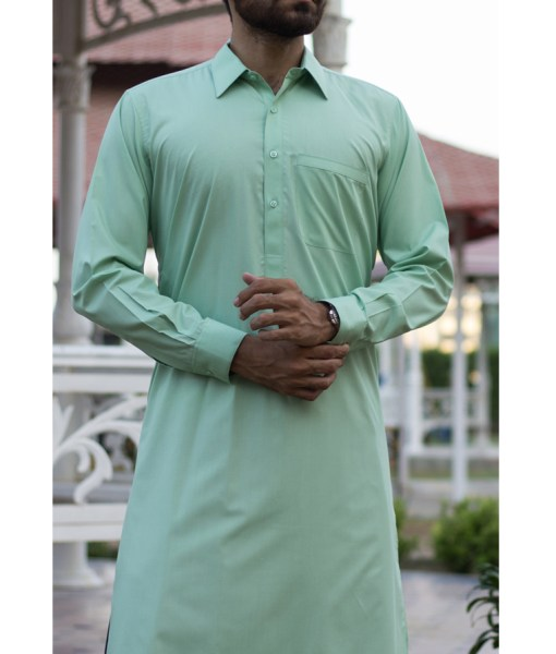 Shalwar Kameez Brige Wash n Wear Shirt Collar