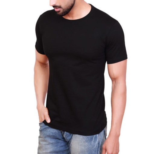Plain Black T-Shirt