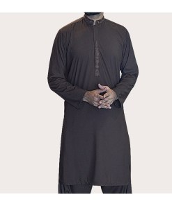 Shalwar-Kameez-Brown 1
