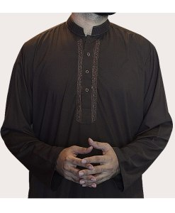 Shalwar-Kameez-Brown 7