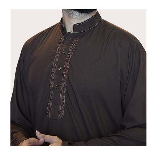 Shalwar-Kameez-Brown 8