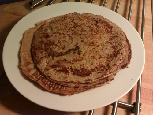 Proteinpannkakor: En bra frukost