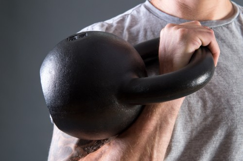 Kettlebell Clean rackposition