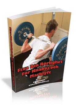 Fixa din rörlighet för knäböj och marklyft