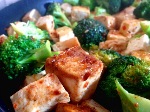 Sojabönsosten tofu