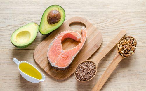 Mat med högt innehåll av omättade fettsyror