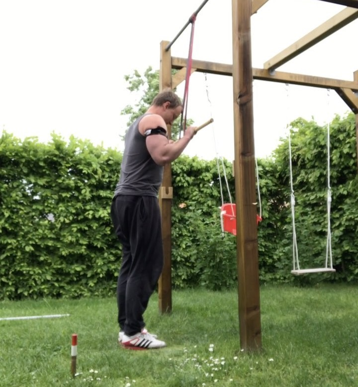 Daniel Richter ocklusionsträning styrkelabbet