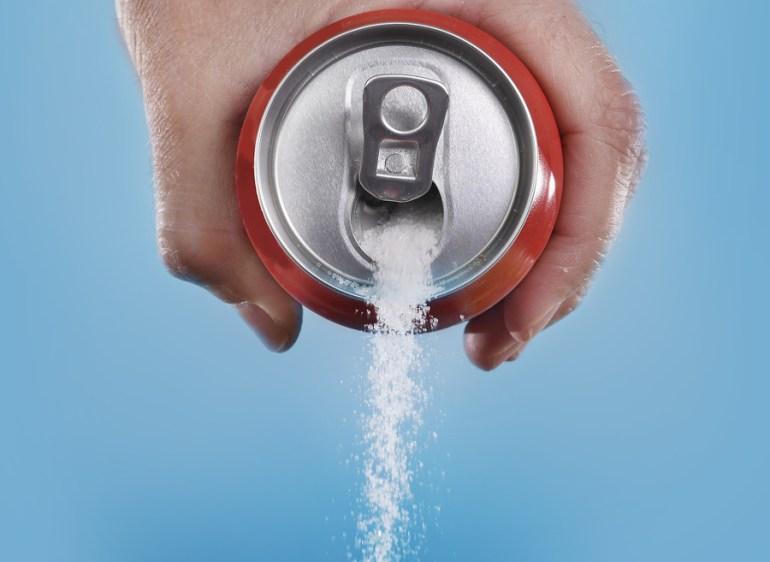 Hur mycket aspartam finns det i lightläsk?