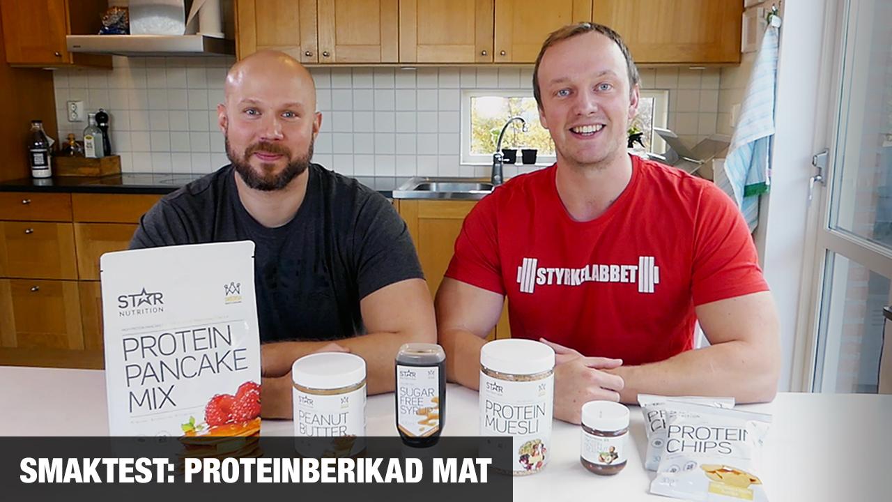 Smaktest av proteinberikade livsmedel