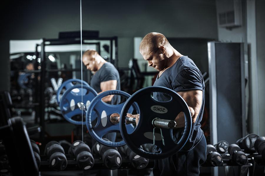 Sämre hypertrofi och styrkeökning av styrketräning med låg intensitet när träningsvolymen är lika stor