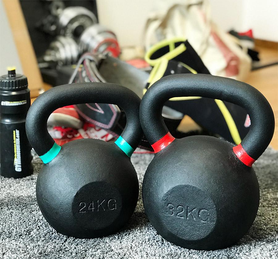 Kettlebells från Master Fitness på Gymgrossisten
