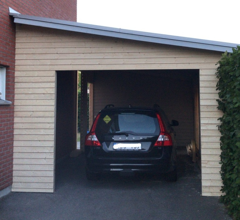 Nästan klart garage