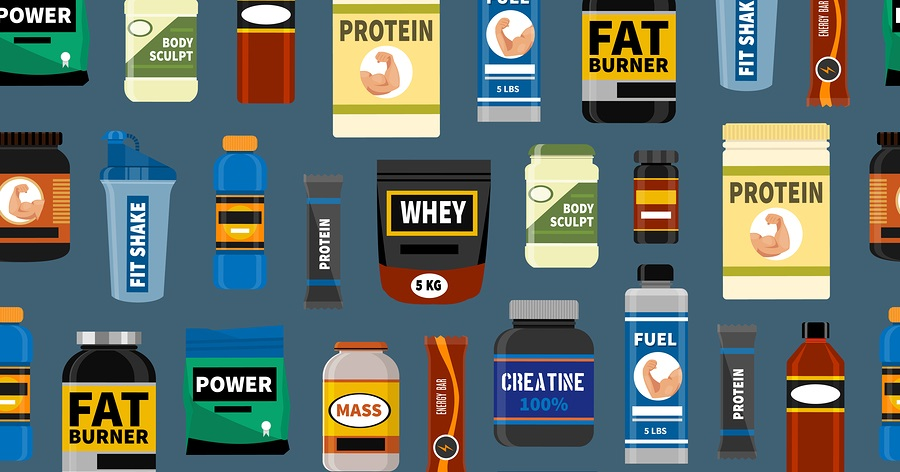 Vanligaste kosttillskotten för att bygga muskler och bli starkare