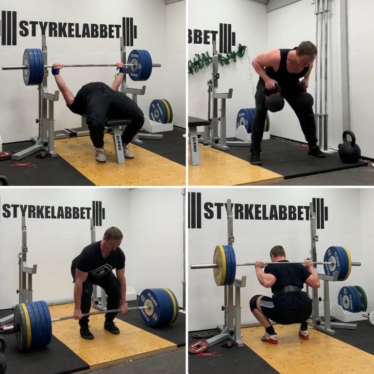 träna rätt för att bygga muskler