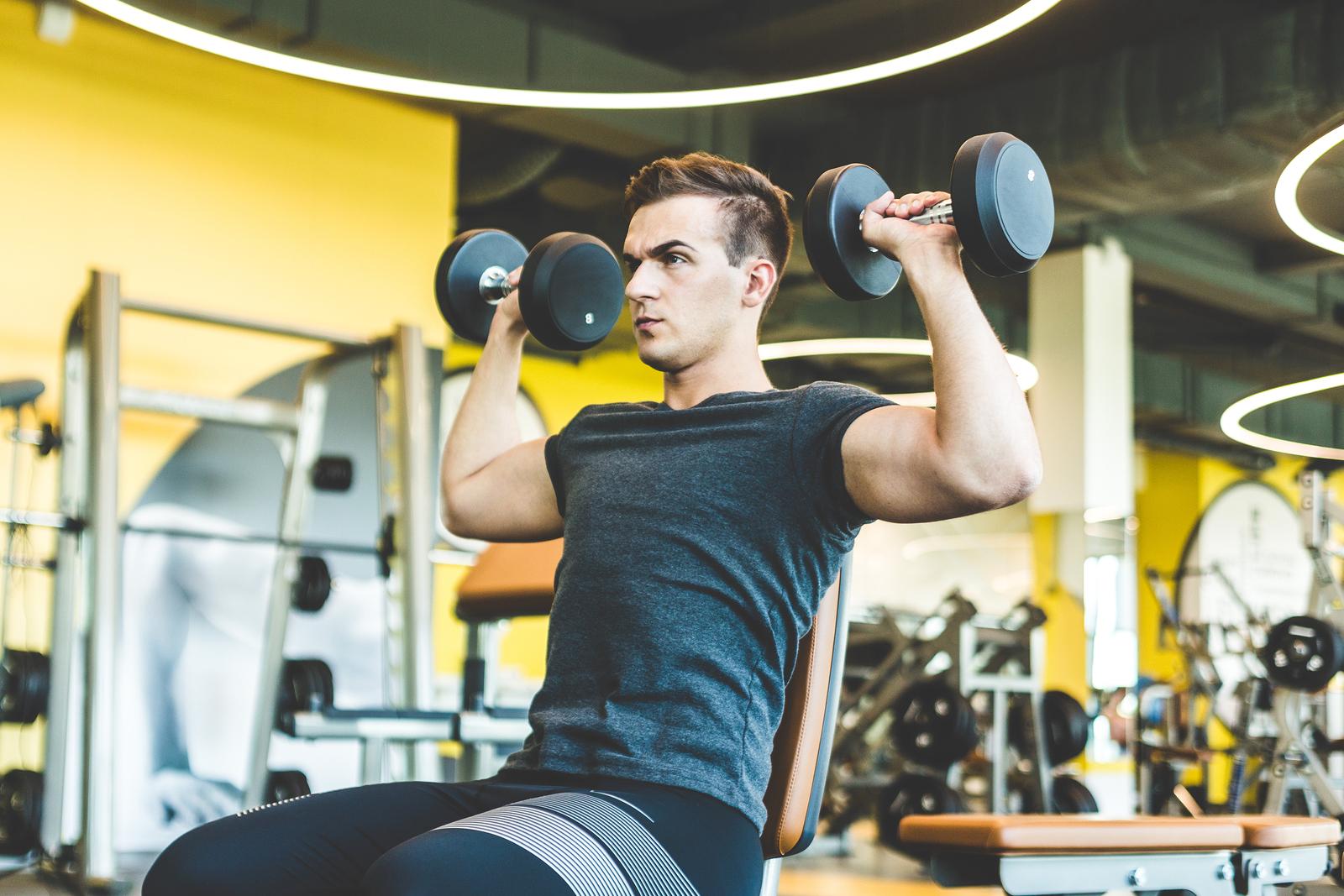 träningsprogram för muskeltillväxt
