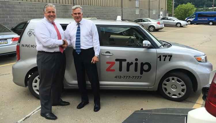 TEXT 4124247173ZTRIP MORNING PITTSBURGH AIRPORT TRANSPORTATION FROM BELLEVUE 15202 TEXT