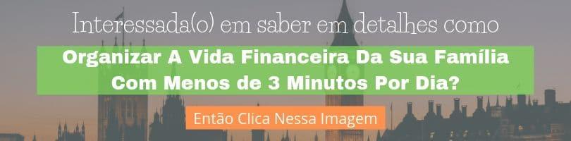 Banner de divulgação do ebook dinheiro em casal, como organizar sua vida financeira com menos de 3 minutos por dia.