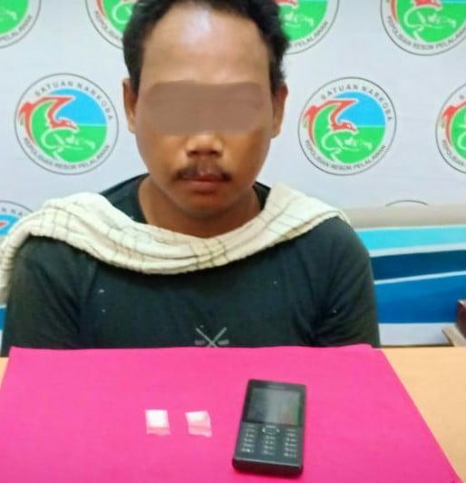 Sedang Melintas di Jalan Engku Lela Putra Kerinci Timur Laki-laki 50 Tahun Ditangkap Bawa Shabu