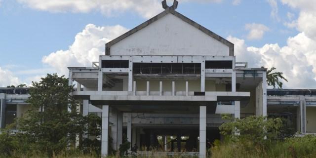 Sampai Tahap Pelelangan Kelanjutan Pembangunan Kantor Bupati terbilang Lancar