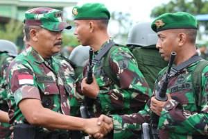 Yonif 511 Dibyatara Yudha, Gantikan Yonif 642 Kapuas Jaga Perbatasan Indonesia-Malaysia