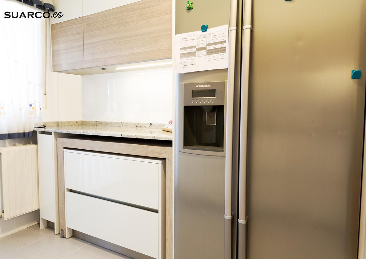Cocina estilo nrdico Cocinas Suarco Fabrica y Diseo