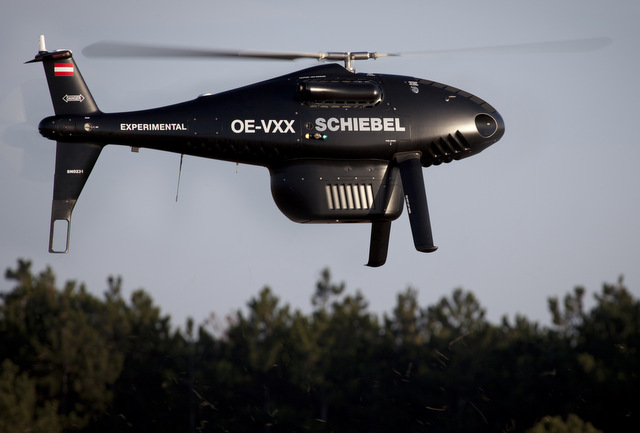 Schiebel Camcopter S-100 Successful integration with Riegl's new VQ