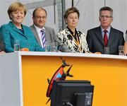 Germany Merkel Drone